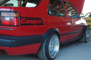 Image of Coupe quarter decal