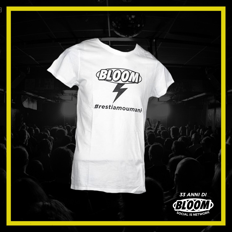 T-Shirt #restiamoumani