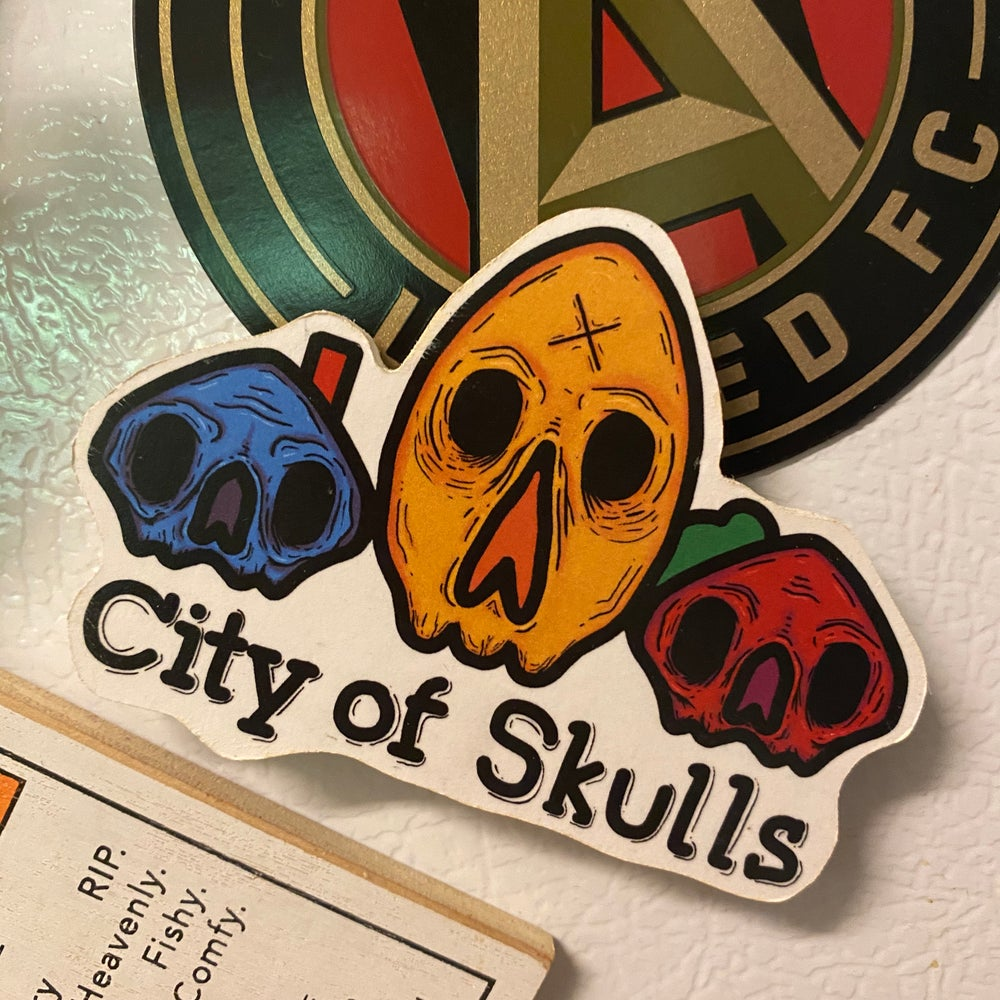 Image of City Of Skulls Magnet
