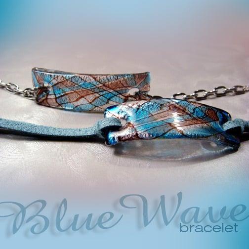 Image of Blue Wave Bracelet