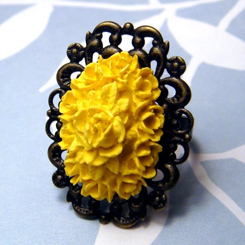 Image of Sunny Blossom Ring