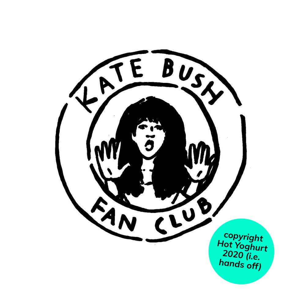KATE BUSH FAN CLUB t-shirt
