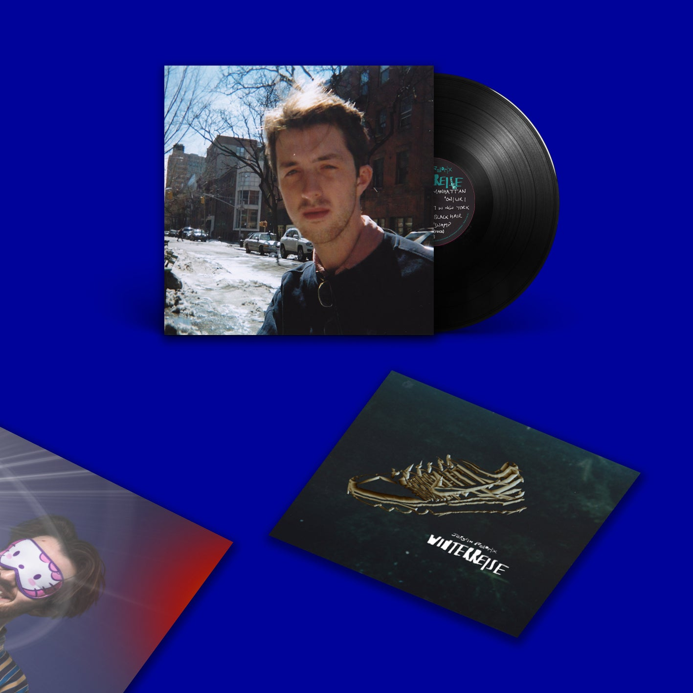 "Image of Jerskin Fendrix - ""Winterreise"" 12inch Vinyl + Booklet & tear-out poster"