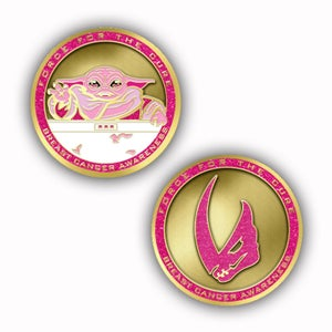 Image of Force For The Cure: Magic Hand Challenge Coin