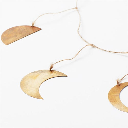 Image of Phases Of The Moon Brass Garland