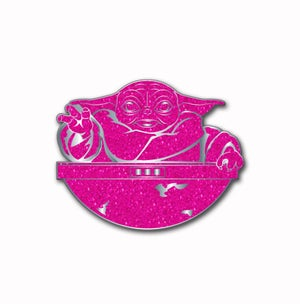 Image of Force For The Cure: Magic Hand Glitter Pin