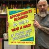 Covid Regulations Shop Poster