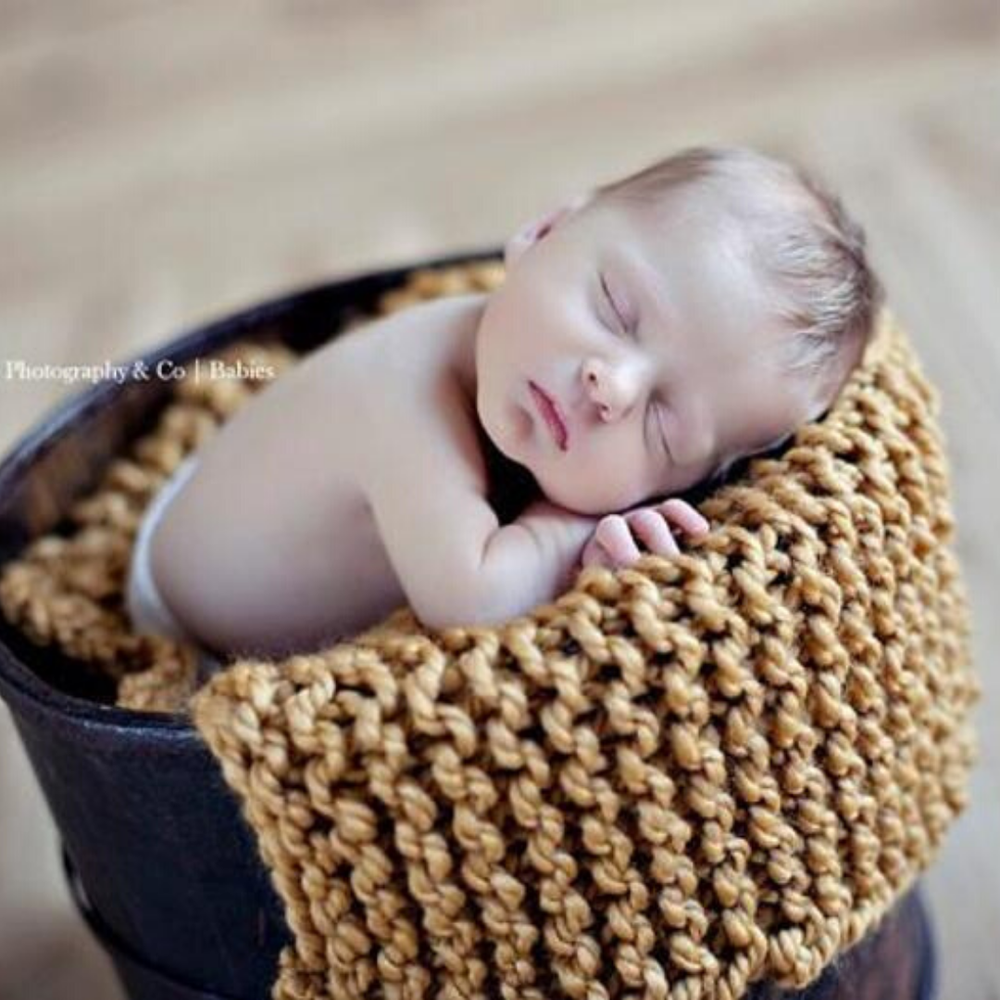 Image of Sweet Dreams Baby Blanket Knitting Pattern PDF Download