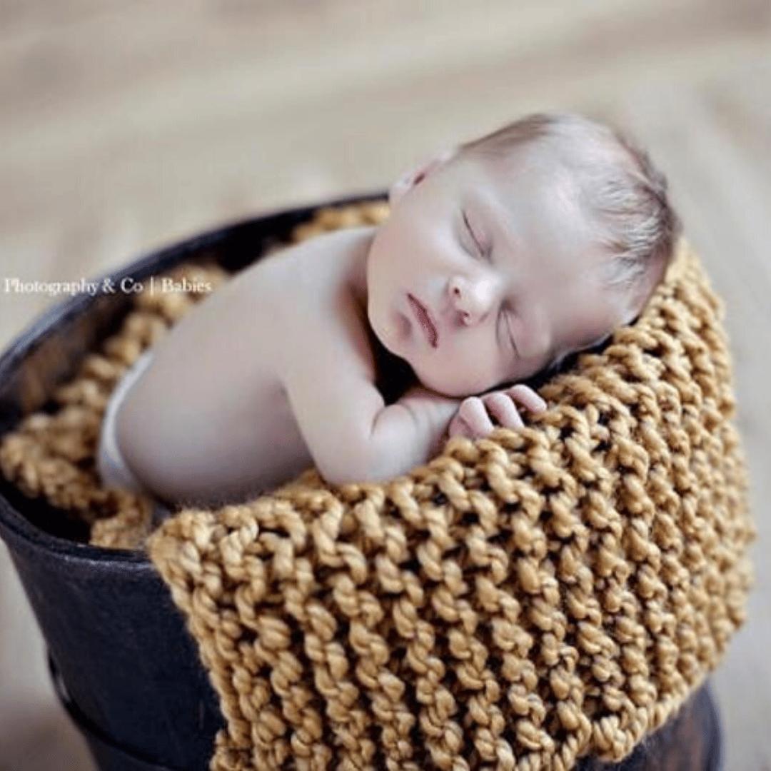 Image of Sweet Dreams Baby Blanket Knitting Pattern