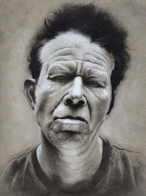 Image of Original Charcoal Drawing Commission