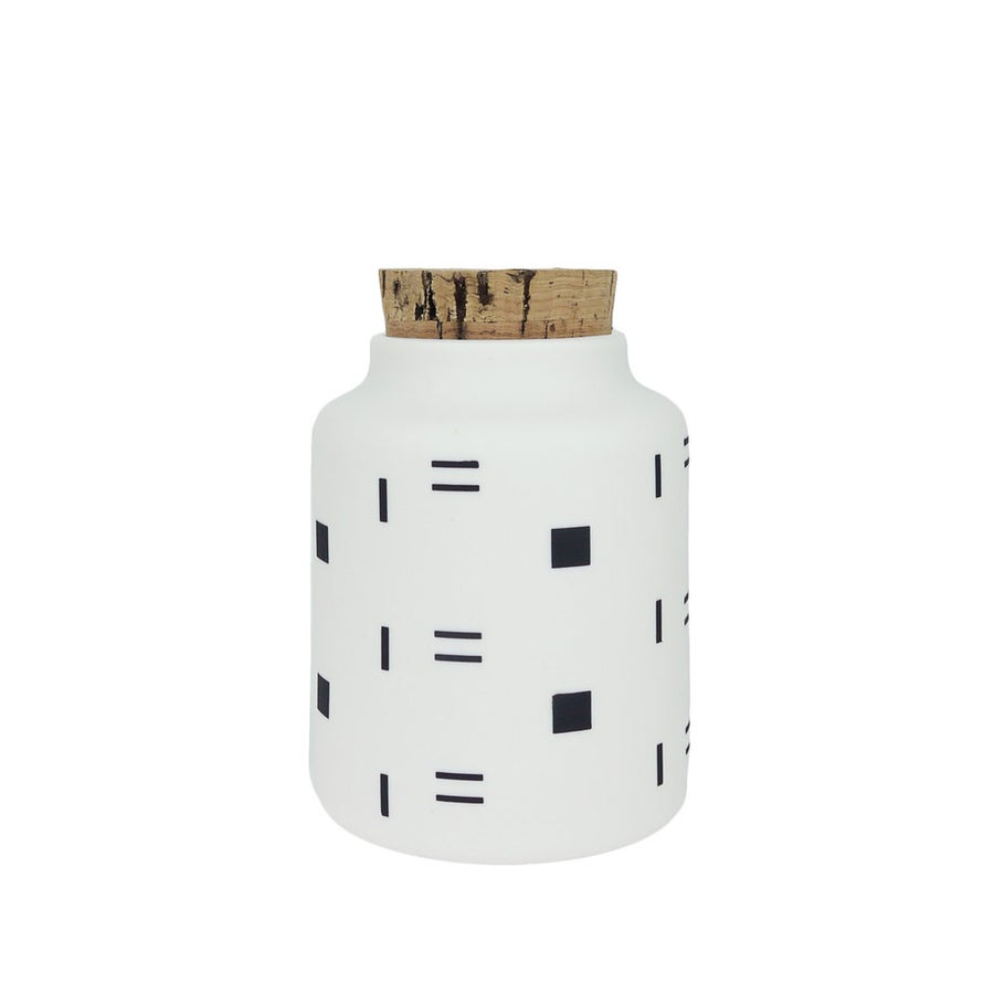 Image of Seed Jar - Boxes and Dashes