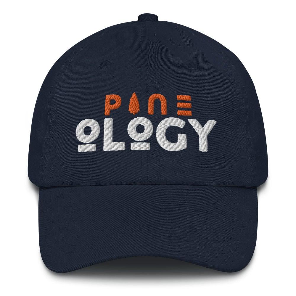 Image of PINEology Burnt Orange Dad hat
