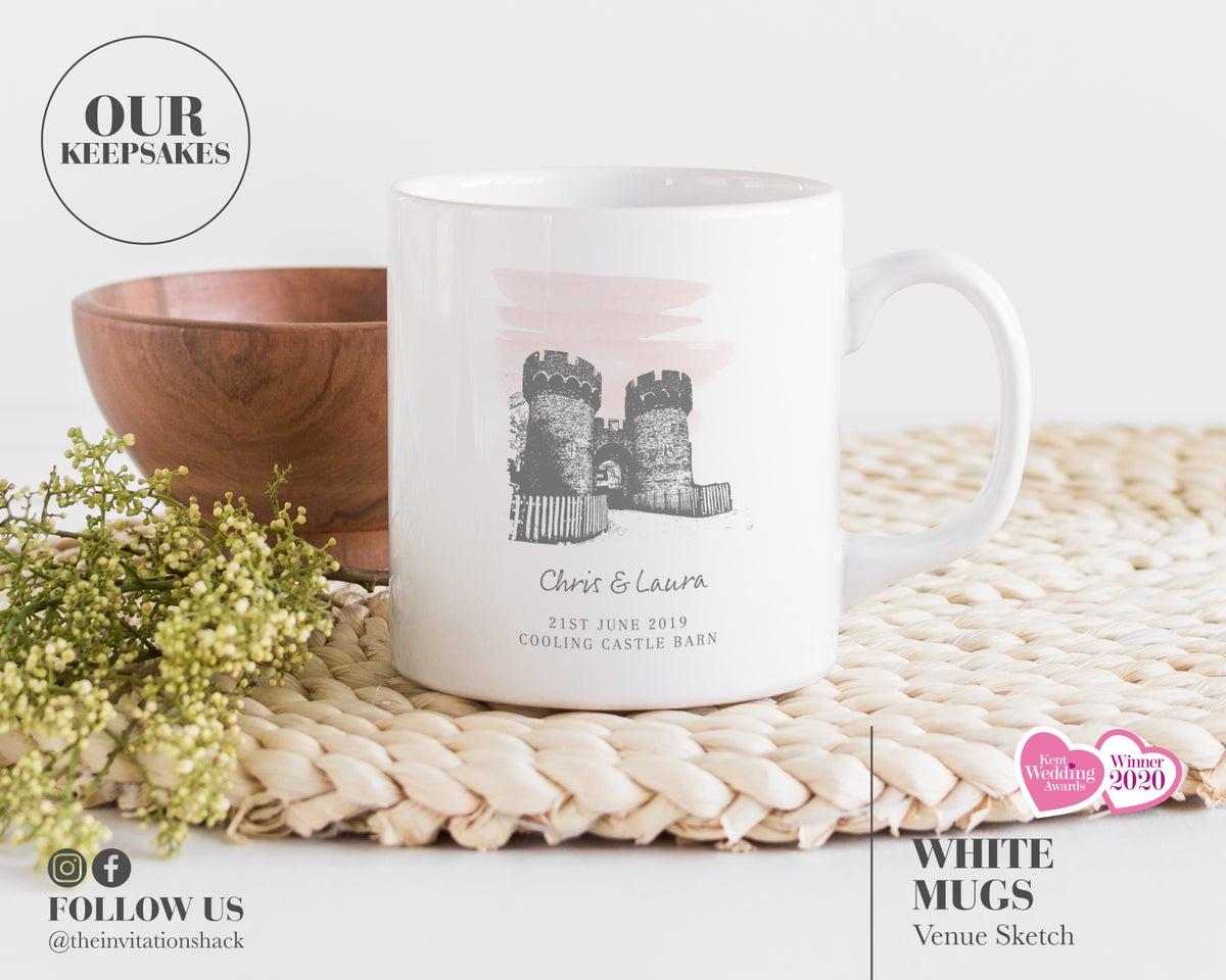 Personalised Venue Sketch Mug