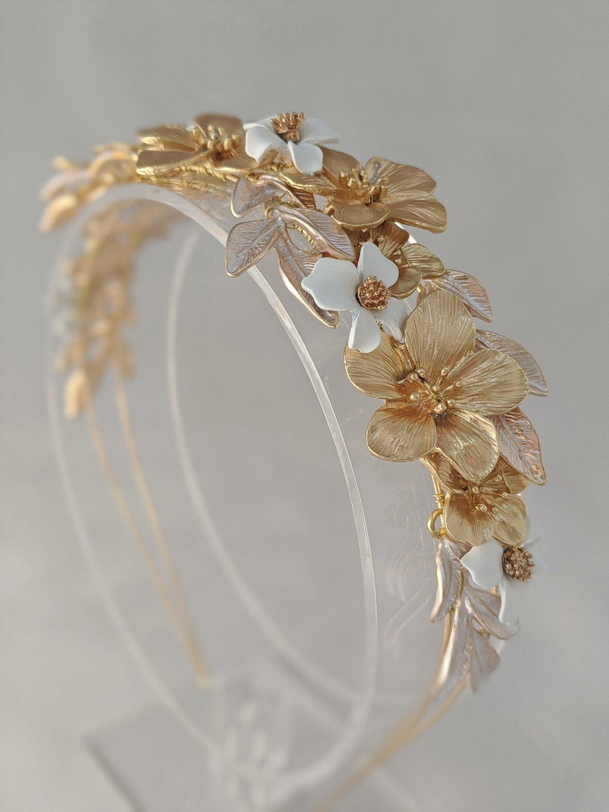 Fleur de lune headband
