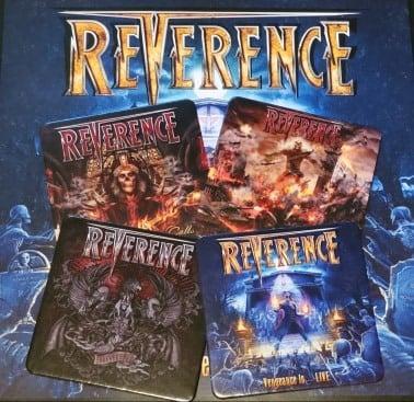 Image of Rev Album Cover Coasters