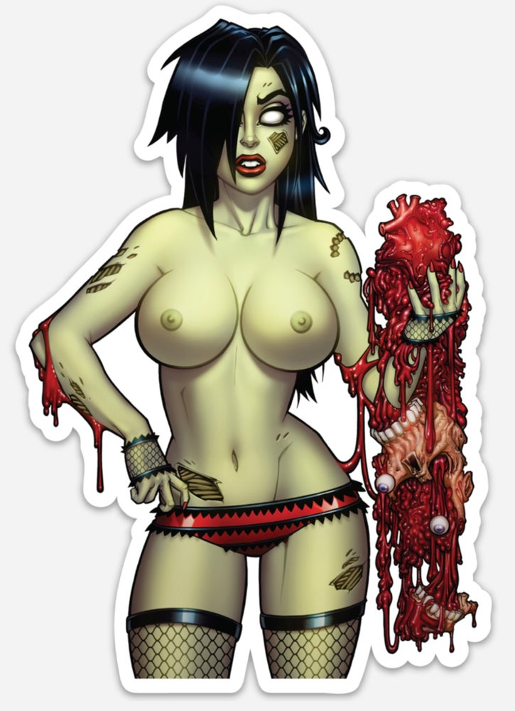 Image of Zombie Tramp SDCC Risque