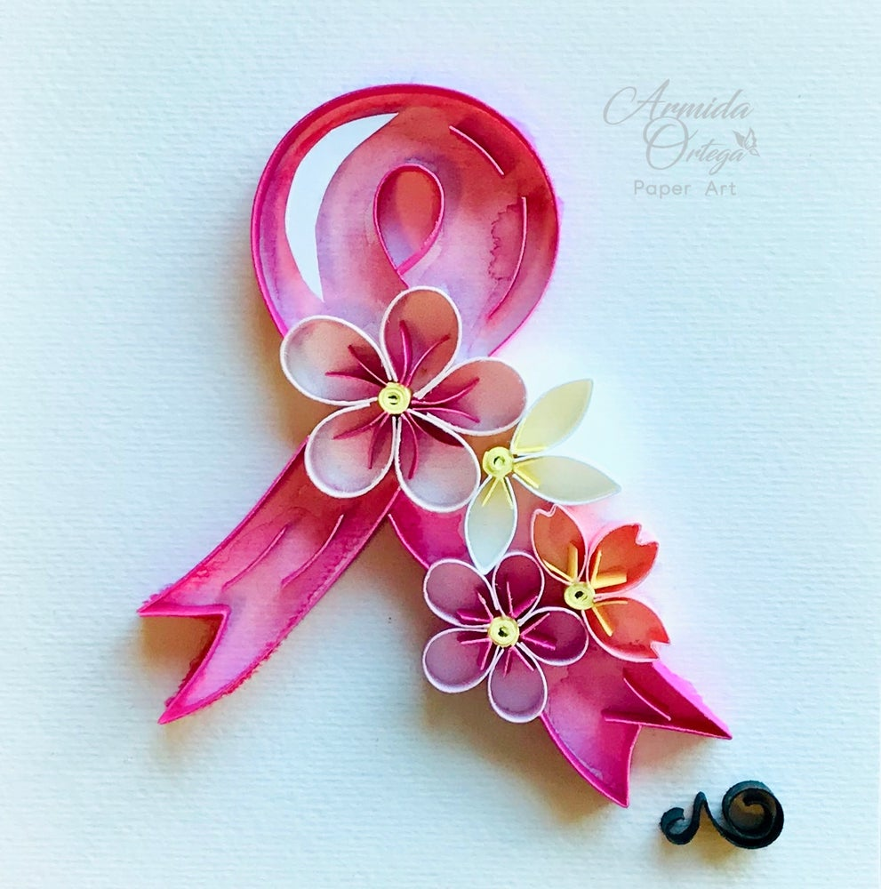Image of BREAST CANCER RIBBON