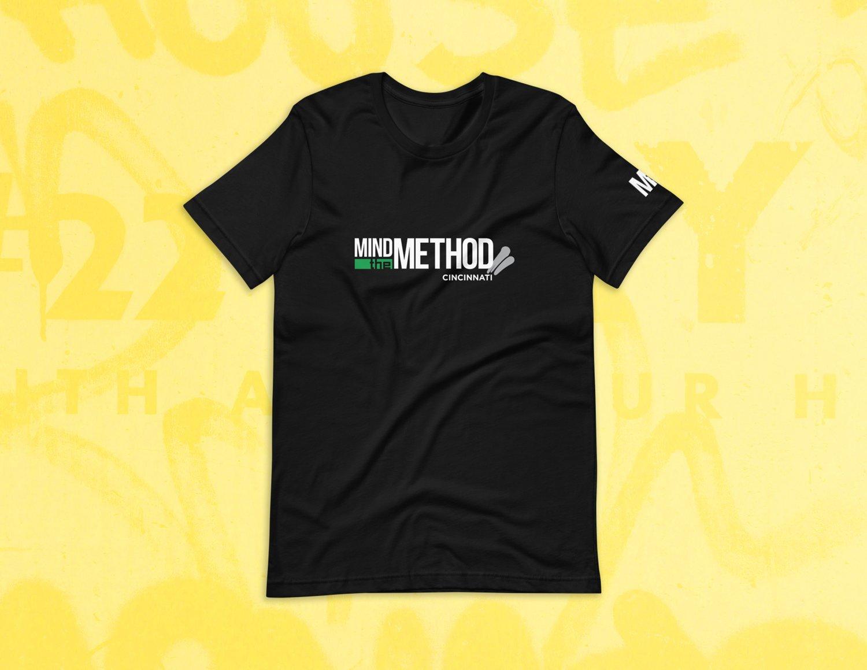 "Image of MTM ""Cincy"" Black Tee Shirt"