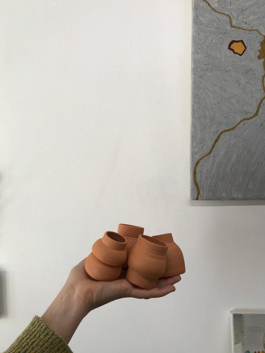 Image of mini bubble vase