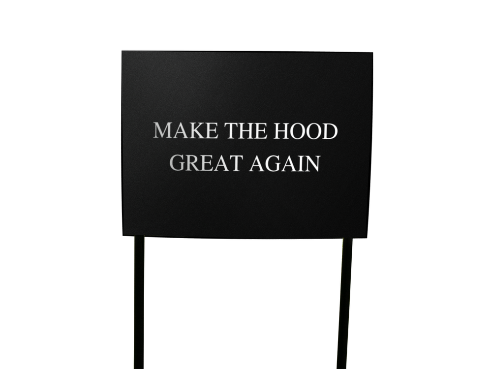Image of **PREORDER** Hood Lawn Signs