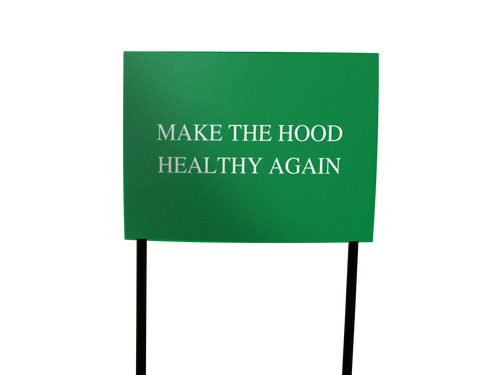 Image of Hood Lawn Signs