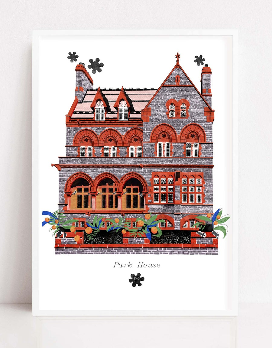 Image of Park House Print