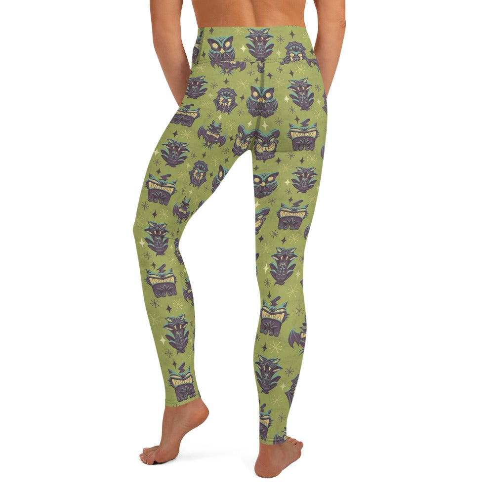 Tiki Vermin Yoga Leggings
