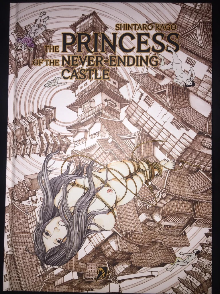 Image of The Princess of the Never-Ending Castle by Shintaro Kago