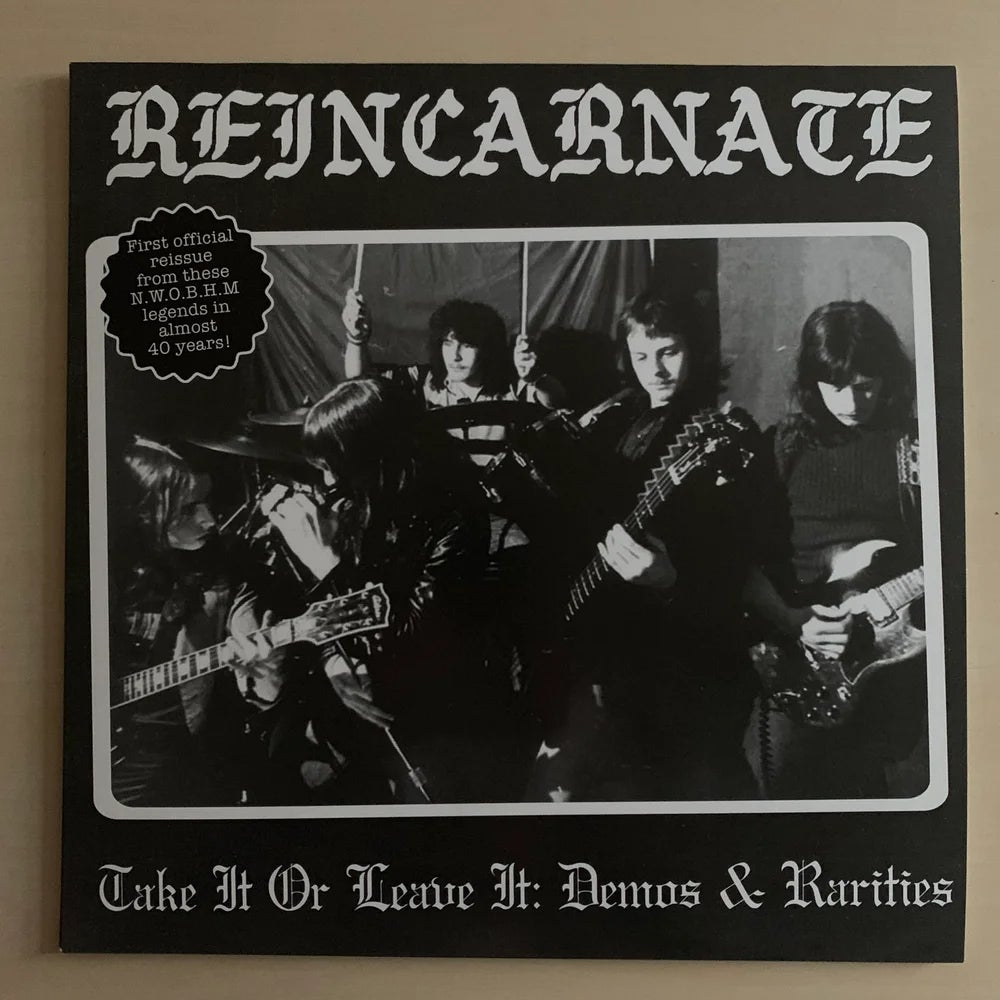 "Image of REINCARNATE ""Take It or Leave It: Demos & Rarities"" LP"
