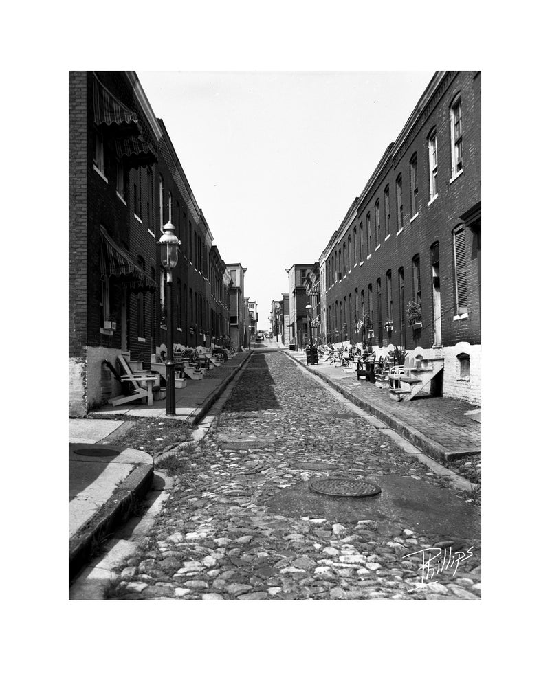 Image of *new* Cobblestone Street by I. Henry Phillips Sr. (1920-1993)
