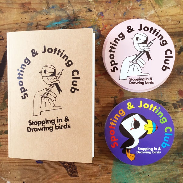Image of Spotting & Jotting Club Pack