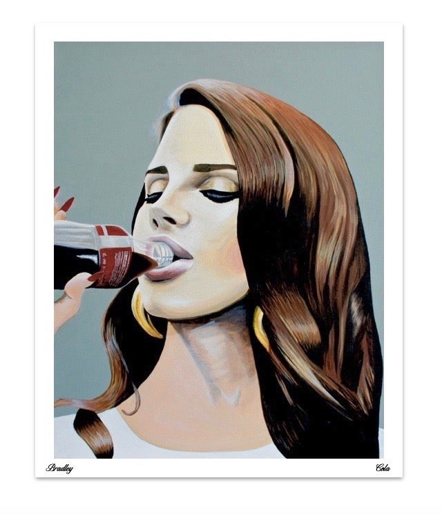 Image of *SOLD OUT* Cola Limited Edition Poster Print