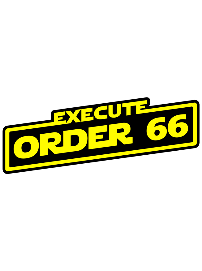 Image of Order 66 by Clay Graham (Jedi Variant)