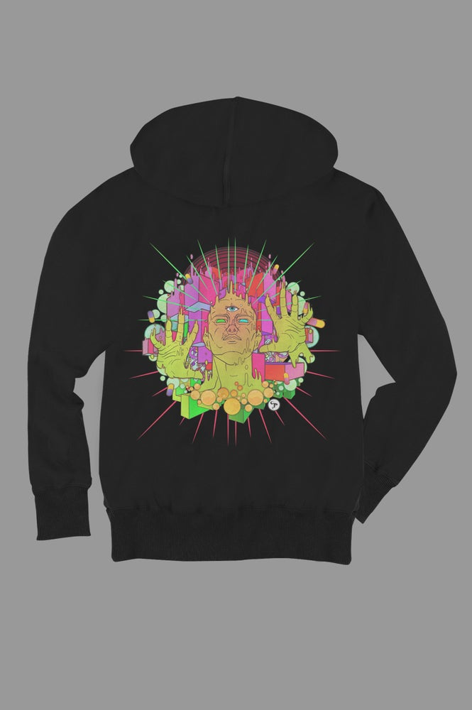 Image of Psychodelic Pitch Hoodie