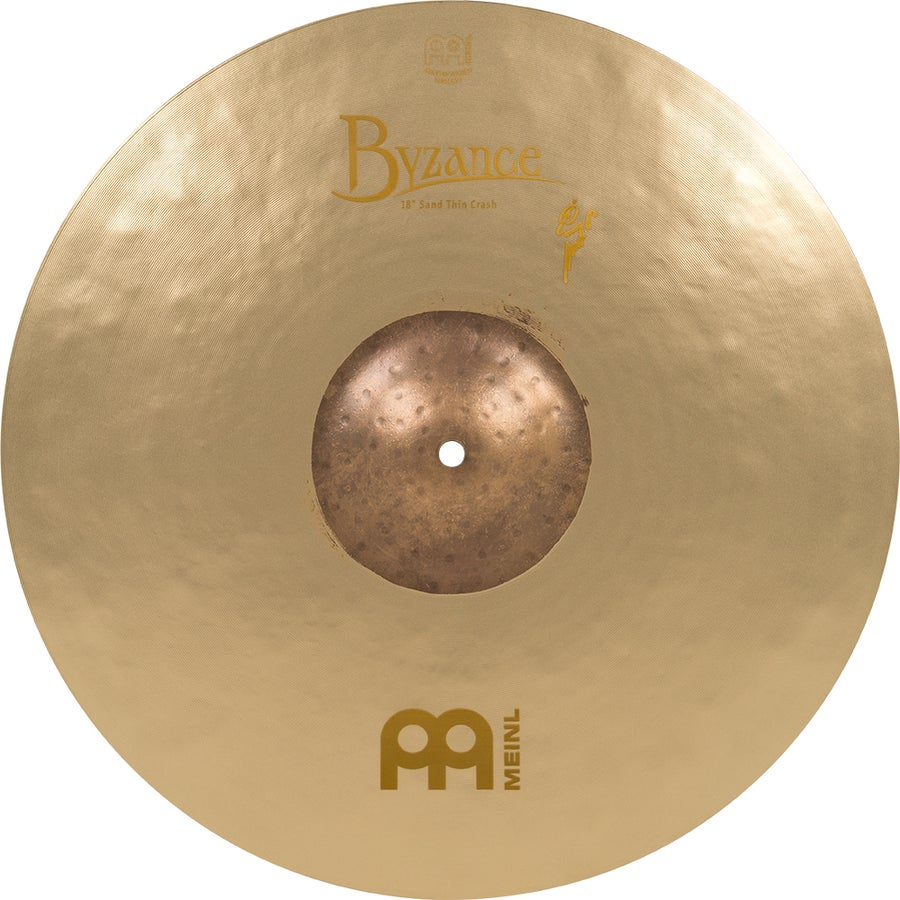 "Image of Hand-selected by Benny Greb: MEINL 18"" BYZANCE VINTAGE SAND THIN CRASH"