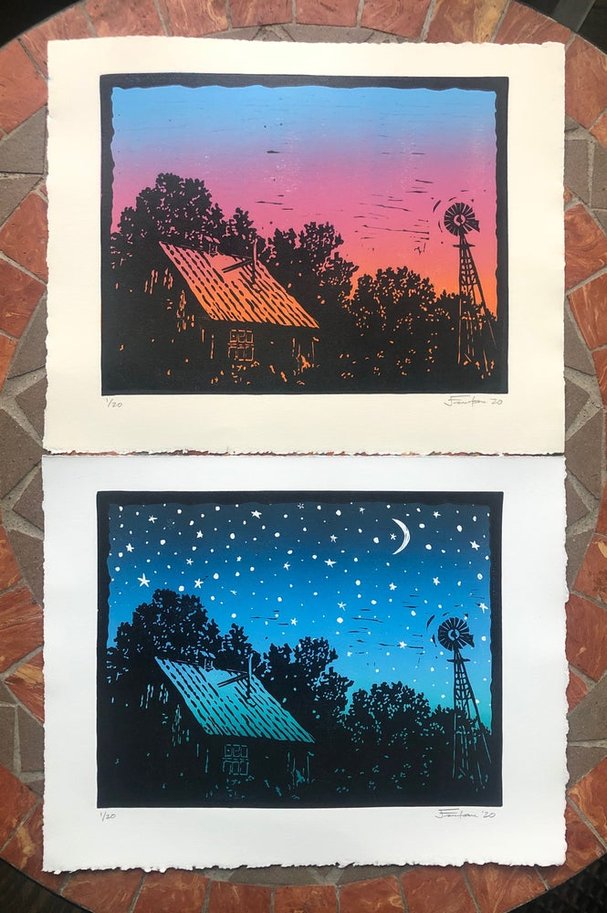 Image of Old Barns prints