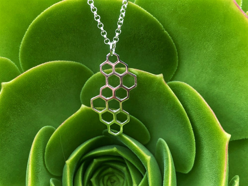Image of Honey Comb necklace