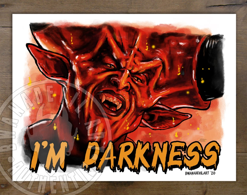 Image of Lord of Darkness from Legend (Tim Curry) Art Print