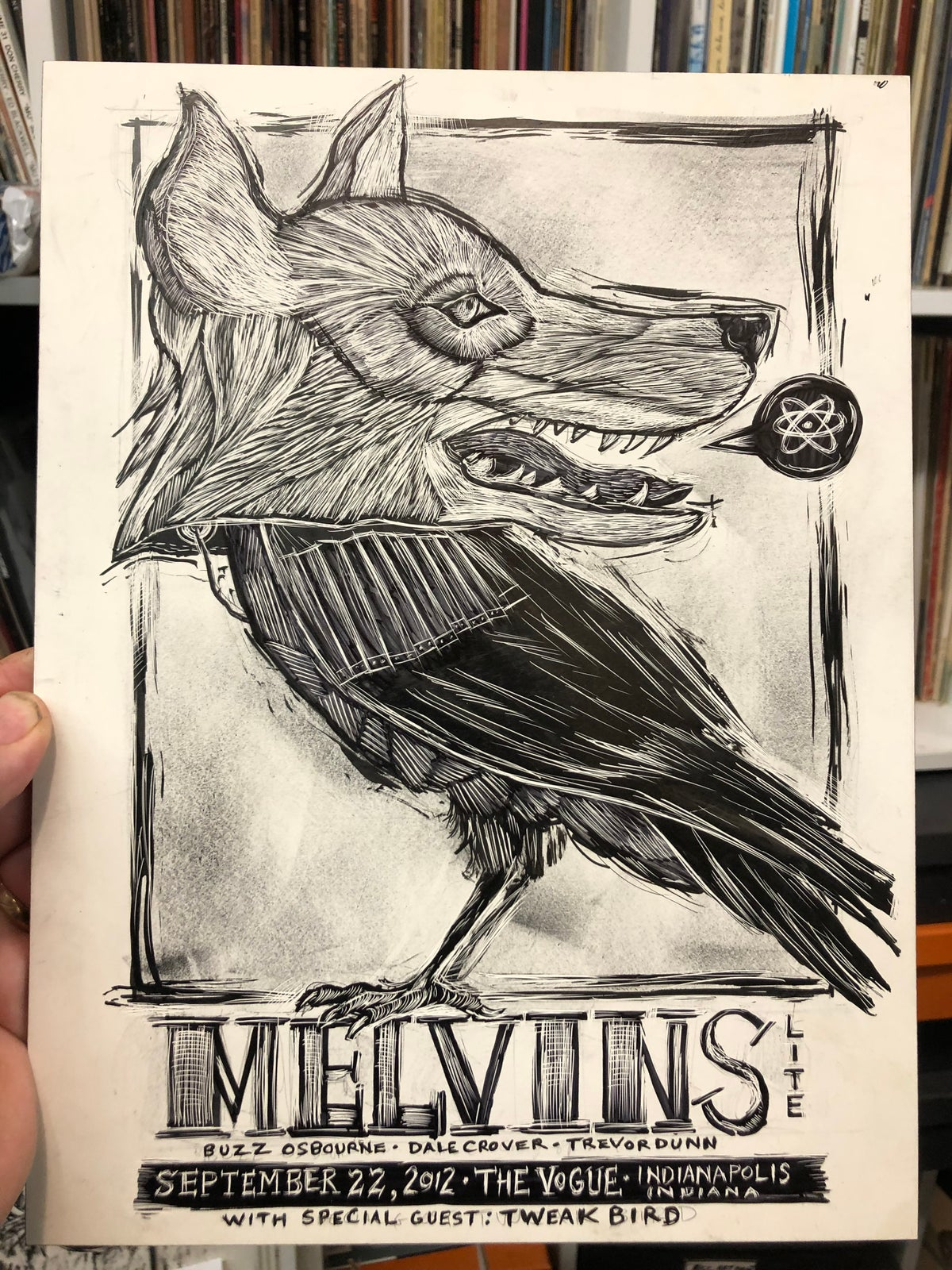 Melvins Original drawing