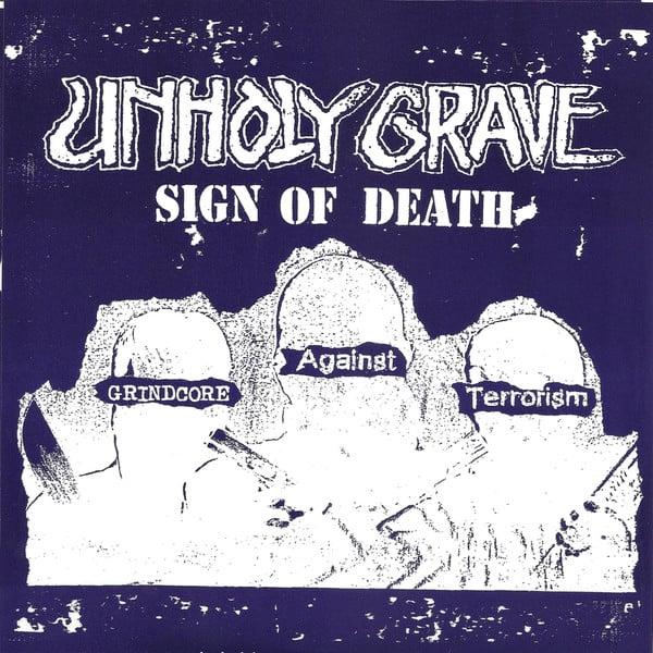 "Image of Unholy Grave / Iron Butter Split 7"""