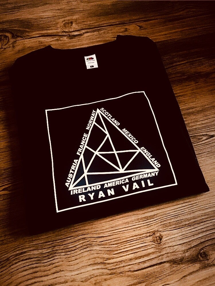 Image of RYAN VAIL International Short Sleeved T Shirt