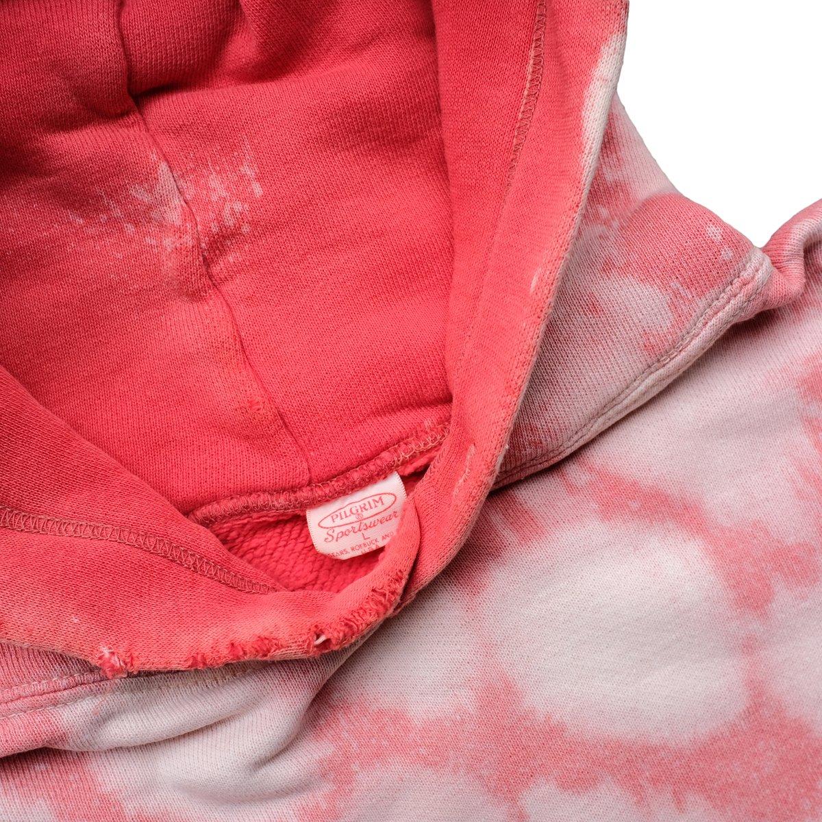 Image of Vintage 1960's Pilgrim Sportswear Hoodie Red