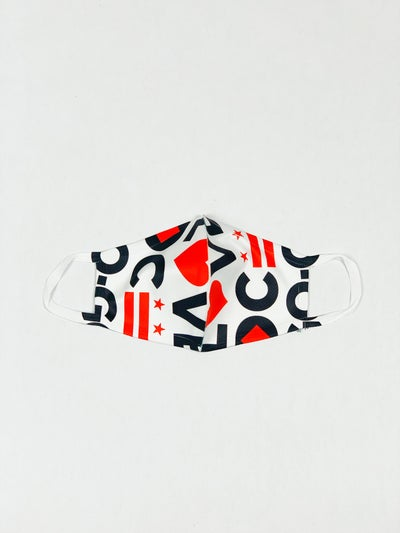 Image of Love DC GoGo - Face Cover 2