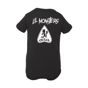 Image of Secret Glyph to the Wasteland - Lil Monsters - Infant Bodysuit
