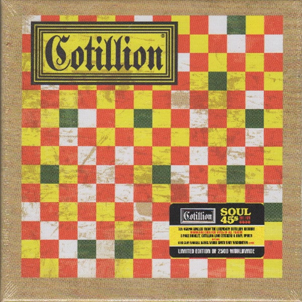 Image of Cotillion Soul 45s 1968-1970 VINYL SINGLES BOX