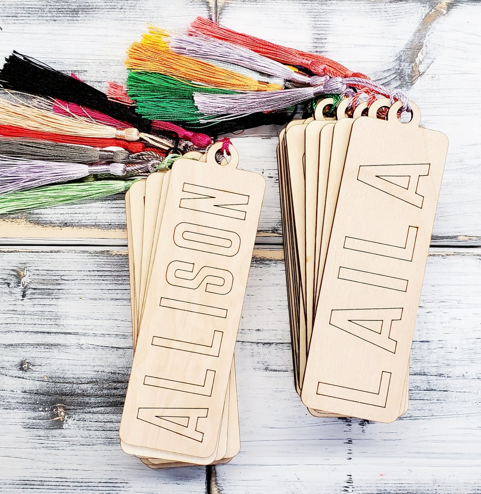 Image of Craft at Home - Add Your Own Color - Personalized Bookmarks