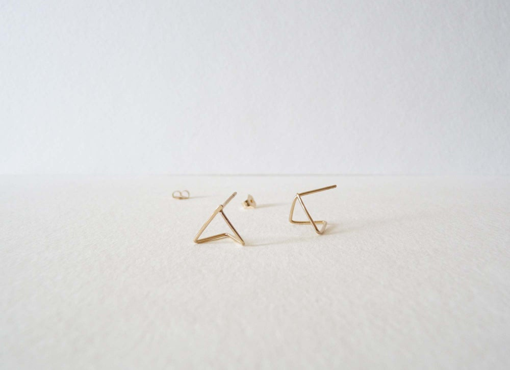 Image of Pyramide earrings