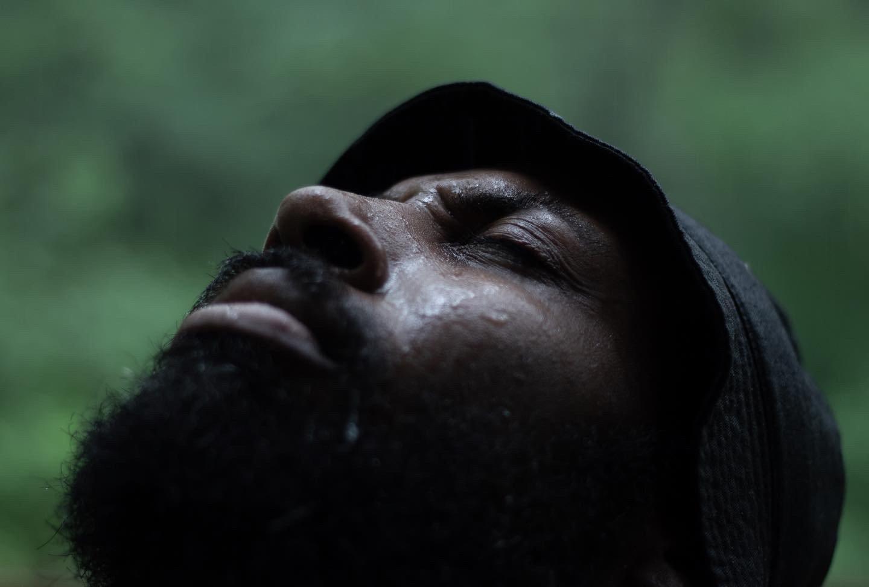 Image of Rain Self Portrait Photo