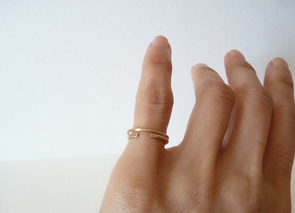 Image of Paired Pinky rings