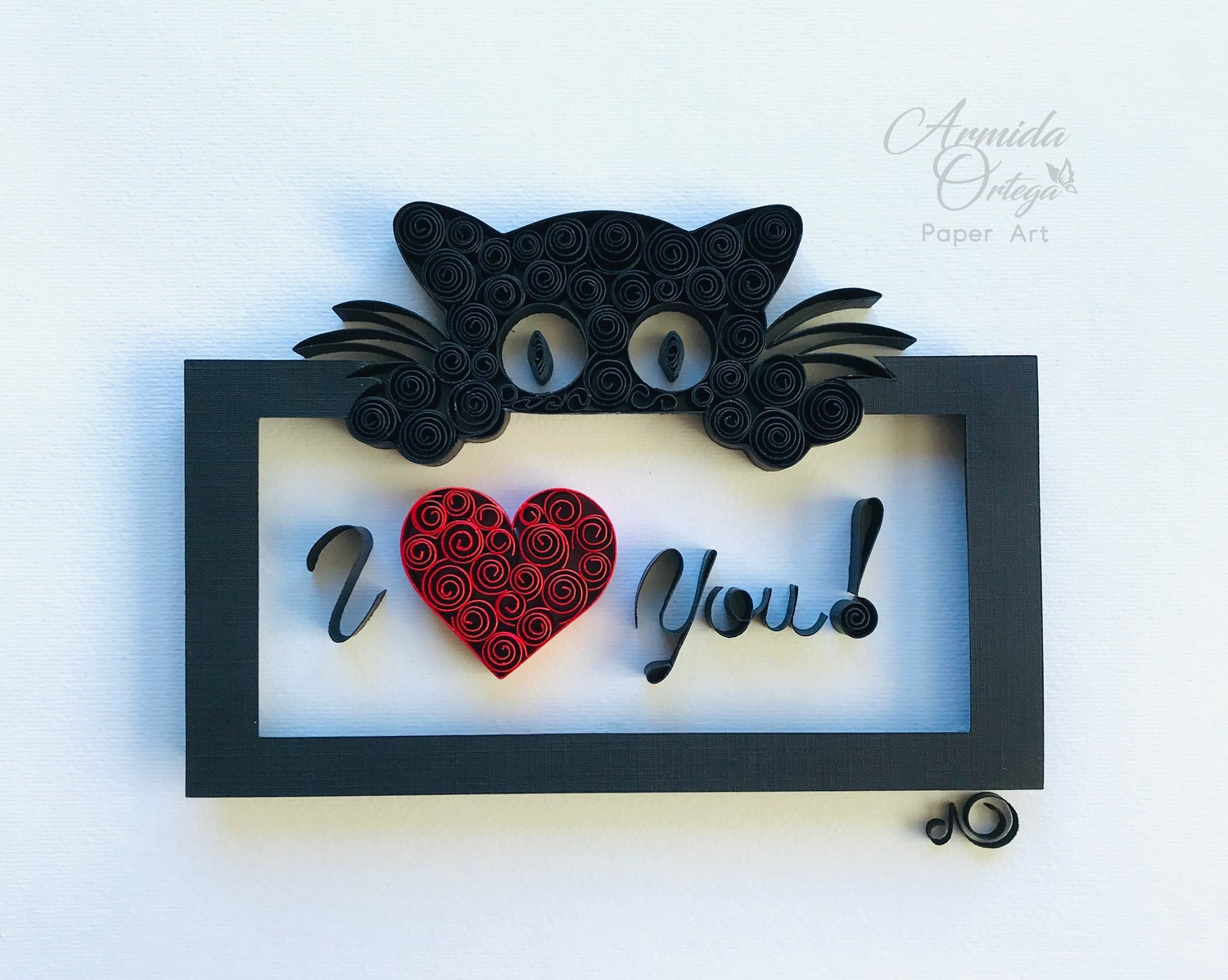 Image of I LOVE YOU - CAT